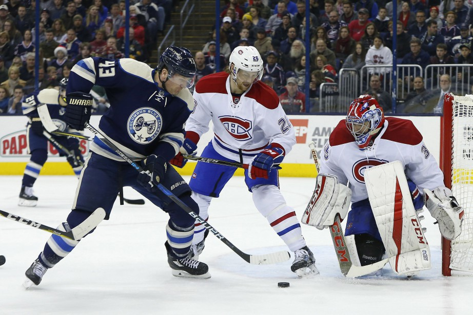 Les Blue Jackets signent une 12e victoire de... (PHOTO Russell LaBounty, USA Today Sports)