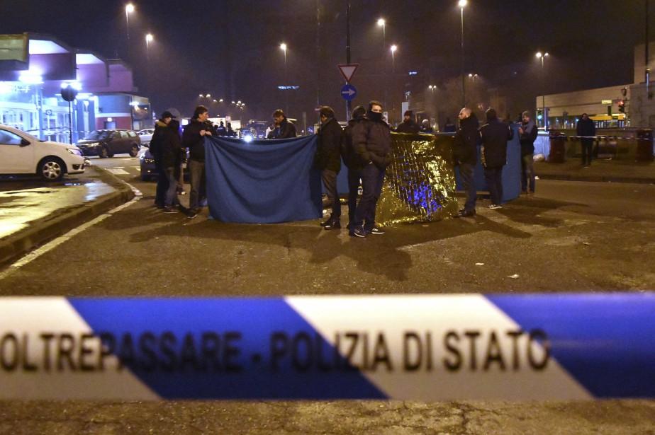 Anis Amri a été abattu par la police... (Photo Daniele Bennati, Archives AP)
