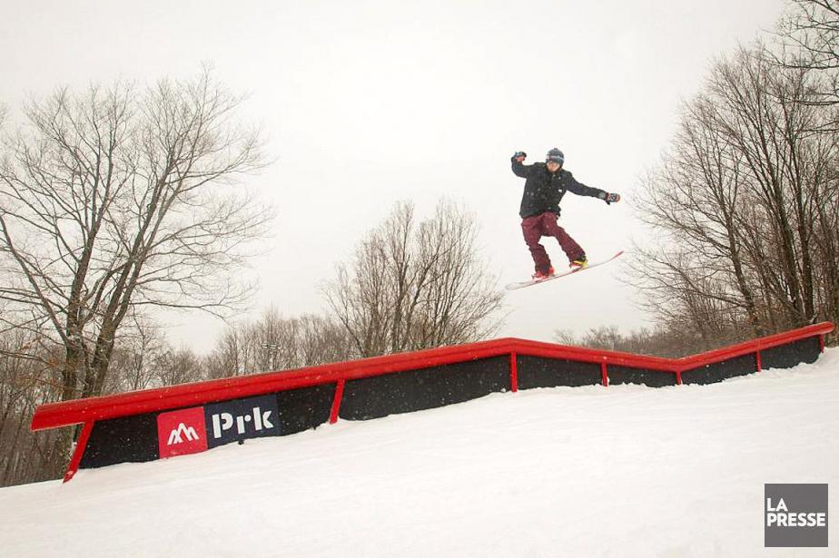 Lesparcs acrobatiques du Québec ont beaucoup changé au... (PHOTO IVANOH DEMERS, LA PRESSE)