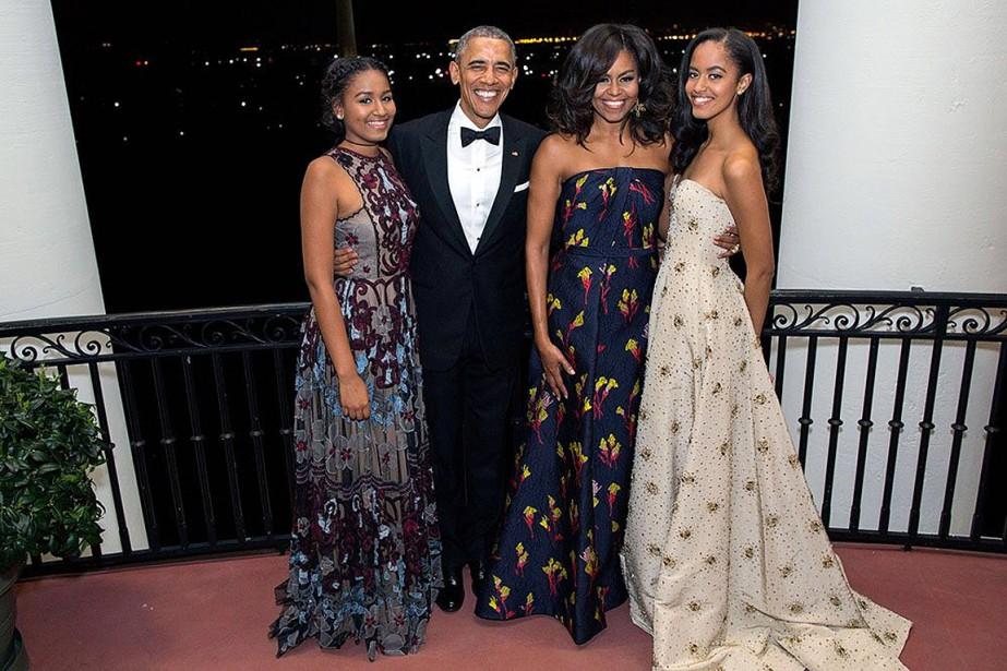 Le président Obama a tweeté dimanche matin une... (Photo tirée du compte twitter de Barack Obama)