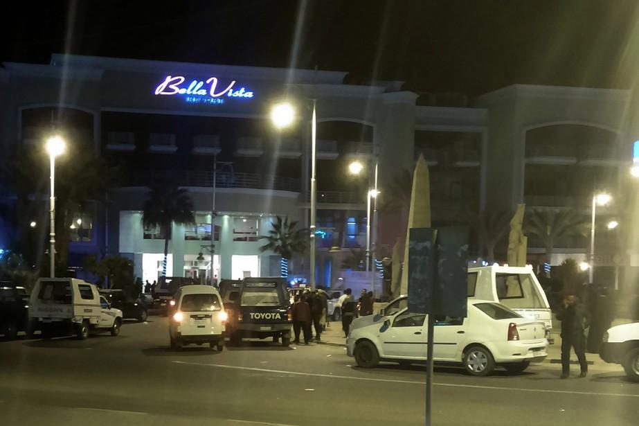 L'hôtel où a eu lieu l'attaque.... (TAMER HASSAN, archives AFP)