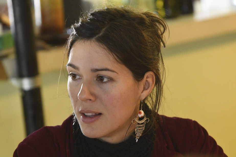 Marilyn Côté est coordonnatrice de l'organisme Les Petits Frères de Saguenay. (Photo Le Quotidien, Michel Tremblay)