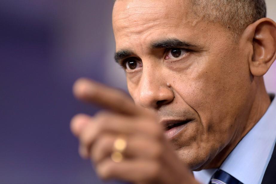 Le président américain Barack Obama.... (PHOTO Susan Walsh, archives AP)