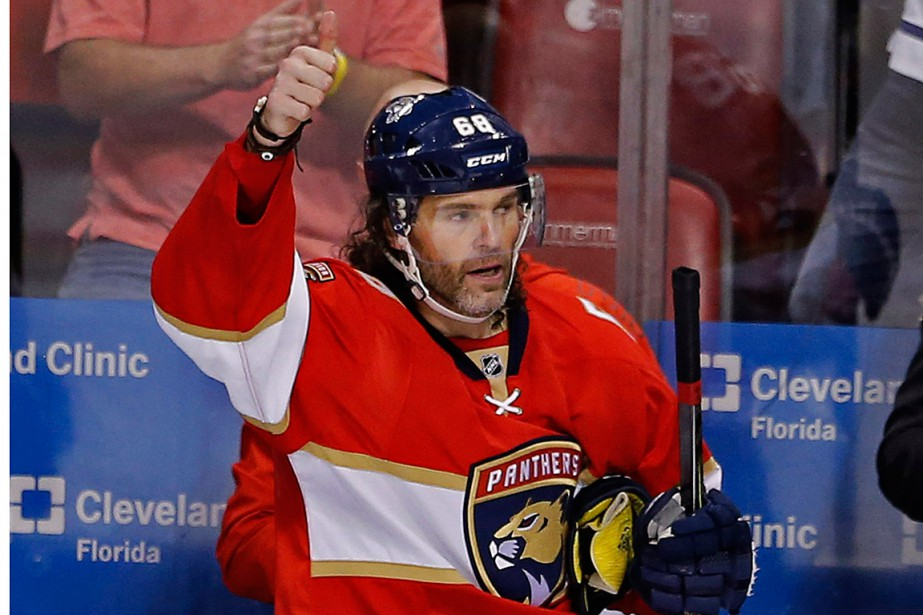 Jaromir Jagr occupe maintenant le deuxième rang de la... (Photo Joe Skipper, archives AP)