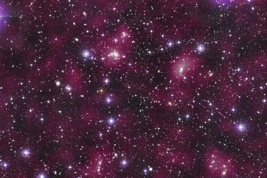 Vera Rubin a découvert que les galaxies ne... (Photo AP)