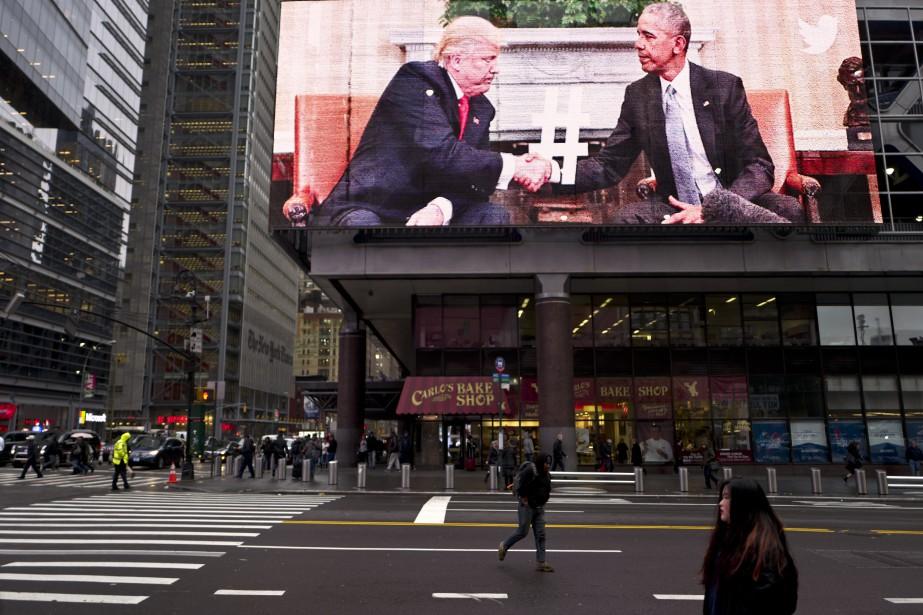 Donald Trump laisse entendre que le bilan du... (Photo archives AP)
