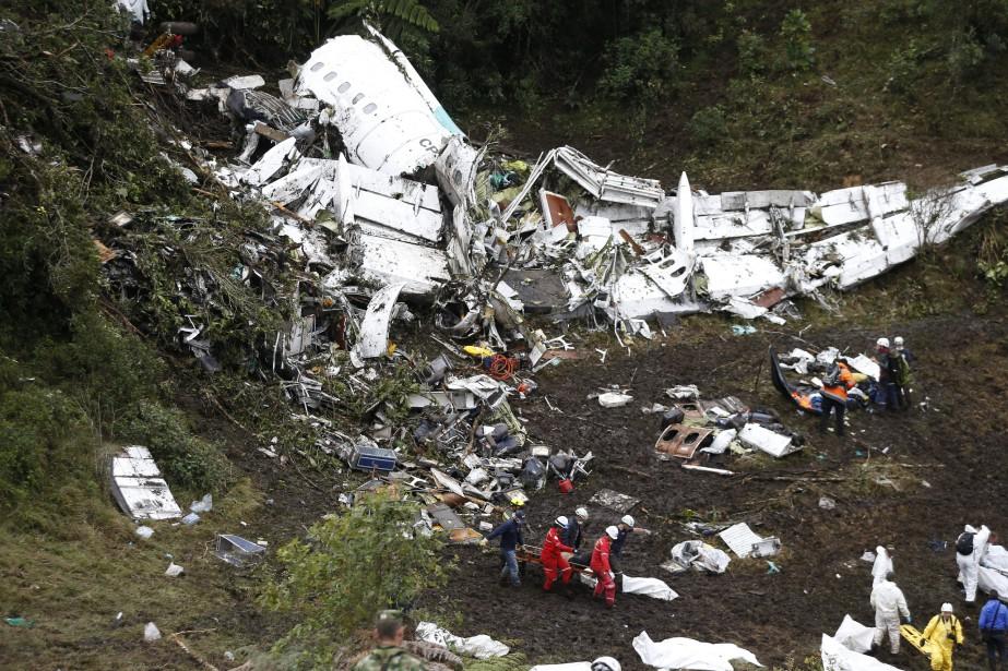 Il n'y a pas eu d'explosion à l'impact,... (Photo archives AP)