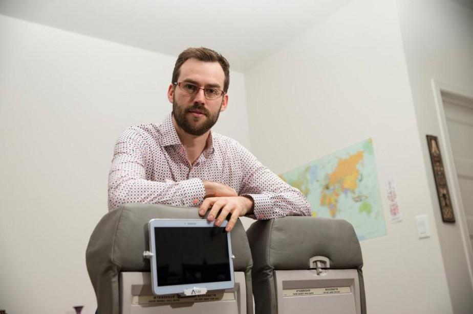 Bernard Goupil a utilisé le sitede sociofinancement Kickstarter... (Photo Martin Chamberland, La Presse)