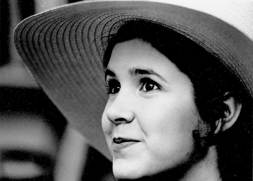 Carrie Fisher à l'âge de 16 ans, à New York (AP,  Jerry Mosey)