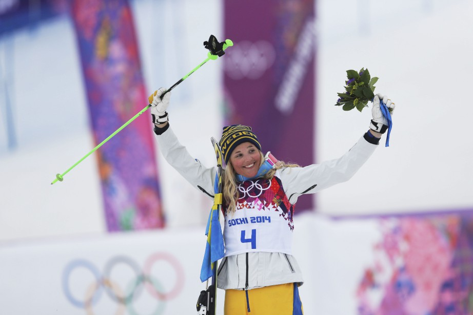 Anna Holmlund a été médaillée de bronze aux... (PHOTO Sergei Grits, archives AP)
