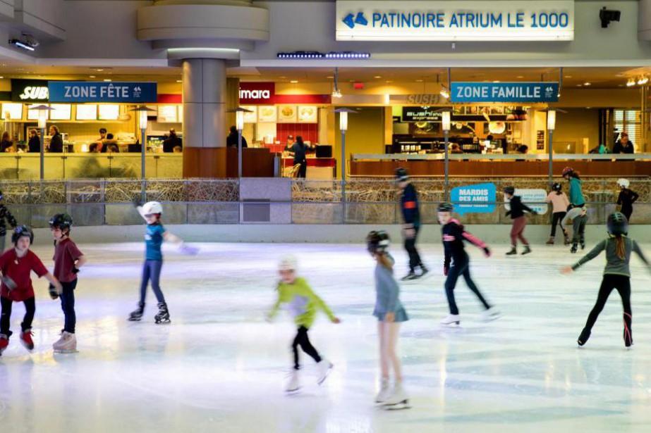 Briser la glace en s 39 initiant au patin alexandre for Patinage exterieur quebec