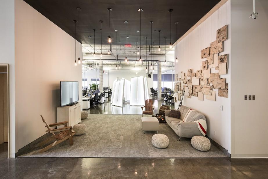 La salle d'hiver présente un «plafond étoilé» composé de plusieurs ampoules individuelles disposées à des hauteurs variées. (Fournie par Ubisoft, Jonathan Robert)