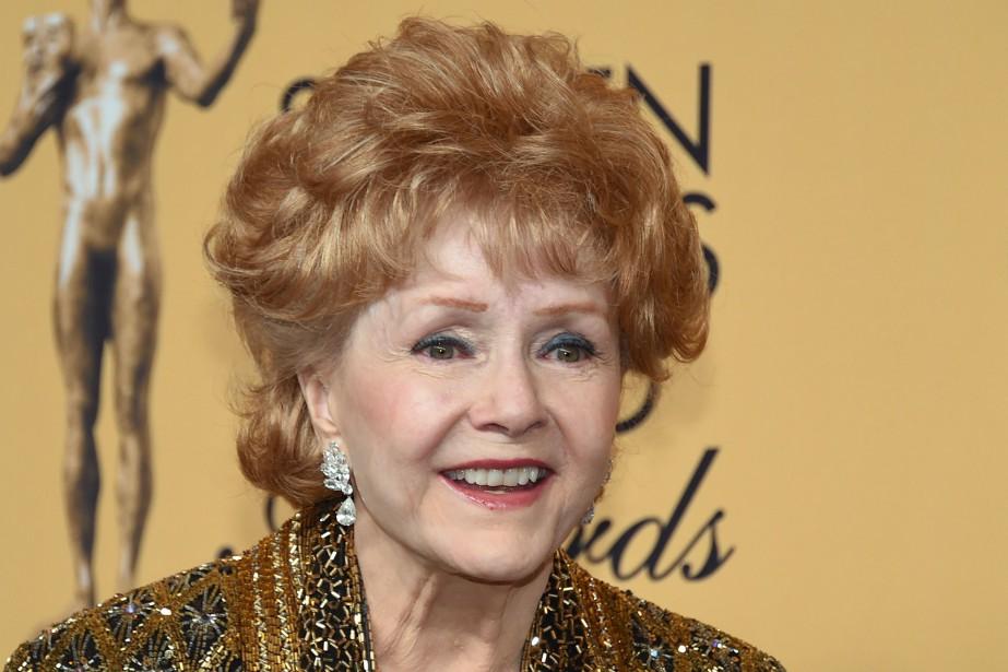 Debbie Reynolds est morte à la suite d'un... (PHOTO Ethan Miller, ARCHIVES AFP)