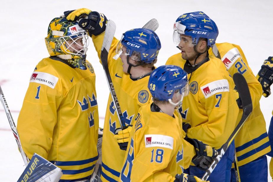 Les Suédois restent toujours invaincus lors de ce... (Photo Ryan Remiorz, La Presse canadienne)