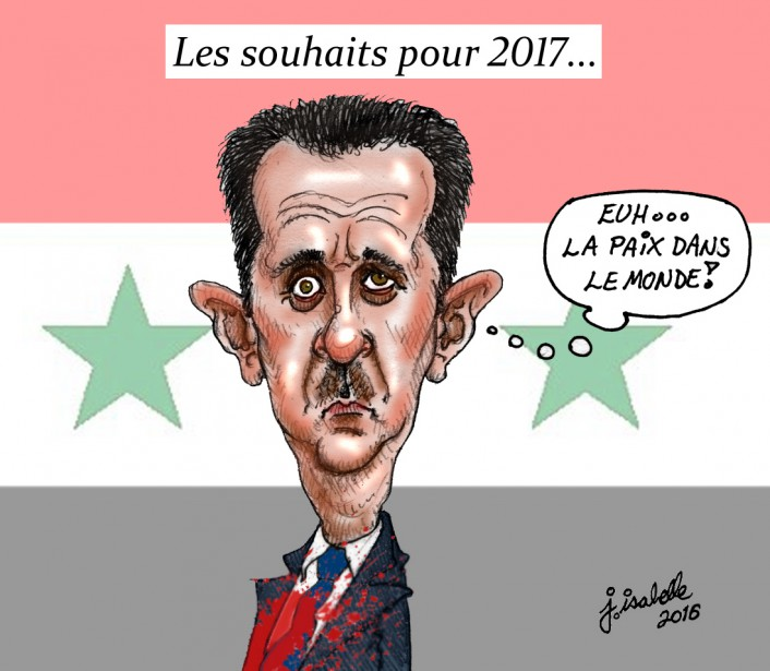 Caricature du 29 décembre | 29 décembre 2016