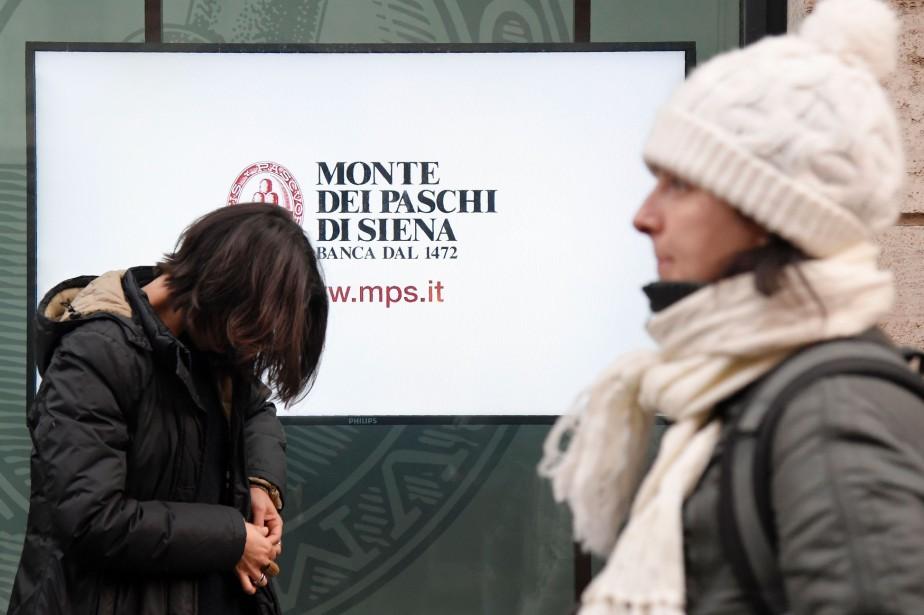 La banque d'Italie a publié jeudi un communiqué... (PHOTO Tiziana FABI, AFP)