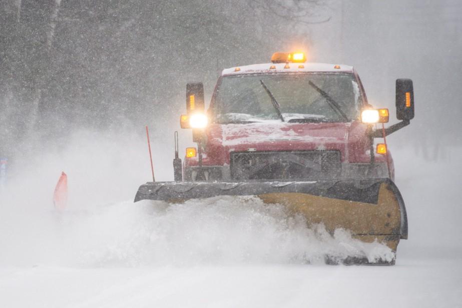 Des avertissements de tempête hivernale sont présentement en... (Photo Graham Hughes, La Presse Canadienne)