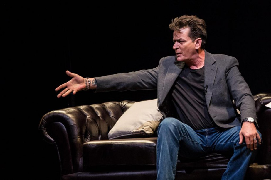 Charlie Sheen... (Photo Vianney Le Cae, Associated Press)