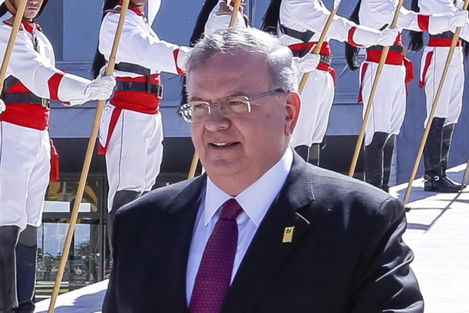 L'ambassadeur grec au Brésil Kyriakos Amiridis a été... (PHOTO Marcos Correa, ARCHIVES AP)