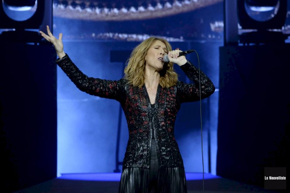 Céline Dion est en lice pour l'album de... (Photo Sylvain Mayer, archives Le Nouvelliste)