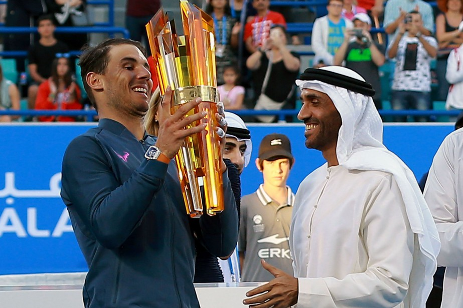 Rafael Nadal... (PHOTO NEZAR BALOUT, AFP)