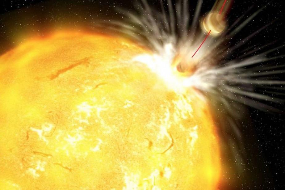 Une équipe internationale d'astrophysiciens a détecté pour la... (Phjoto fournie par l'Institut d'astrophysique des Canaries)