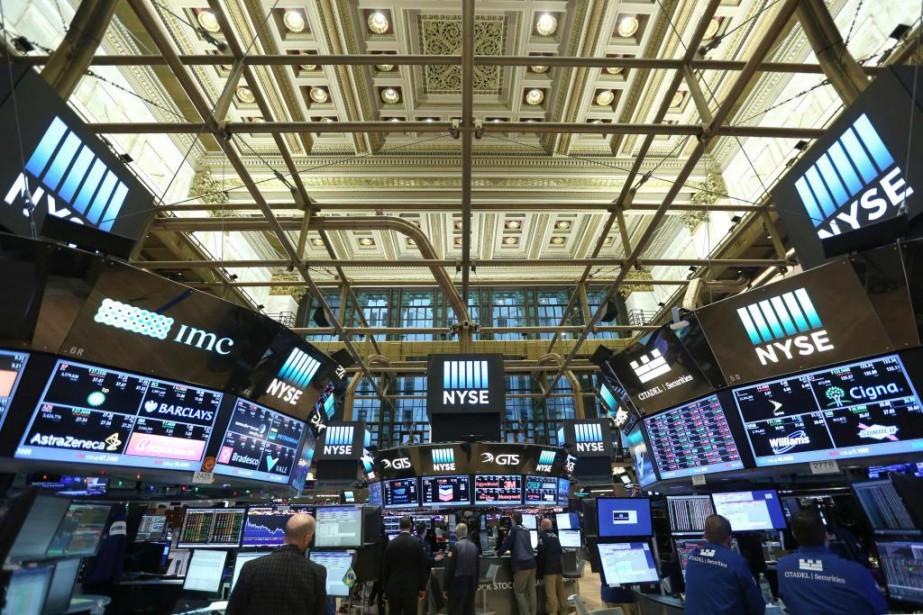 À la Bourse,les cinq premières séances de l'année... (PHOTOStephen Yang, archives Reuters)