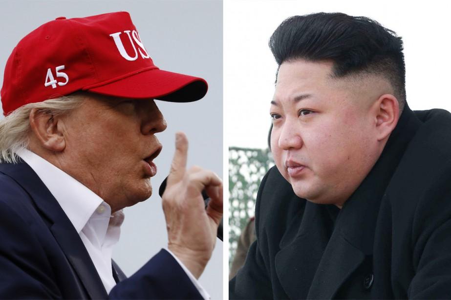 Répondre aux menaces nucléaire et balistique de la Corée... (Photos REUTERS, AP)