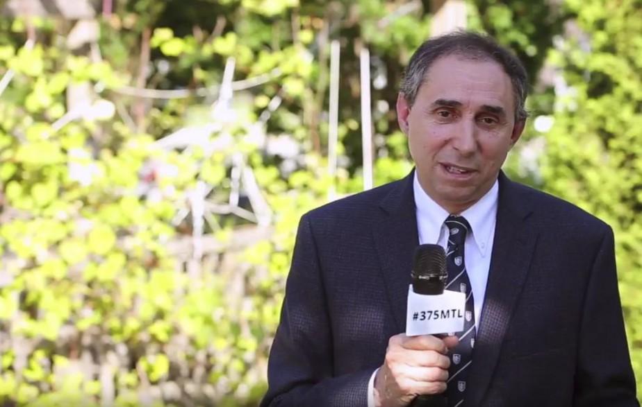 Normand Marinacci est le seul maire d'arrondissement à... (photo tirée d'une vidéo youtube)