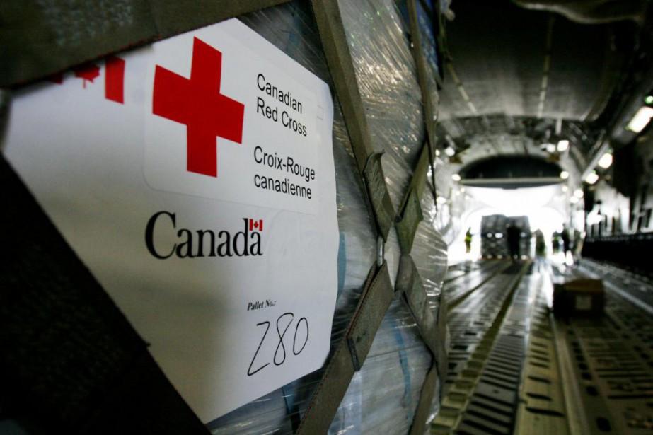 Dans sa requête en injonction, la Croix-Rouge alléguait... (photo archives la presse canadienne)