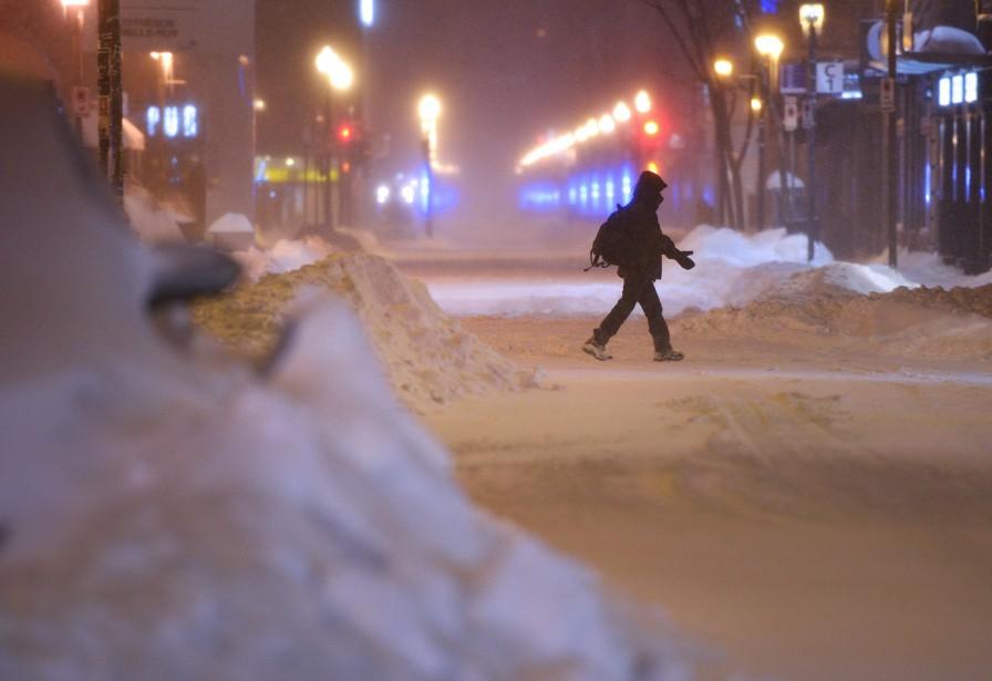 Québec a déjà reçu la moitié de sa moyenne annuelle (305 cm) en terme de quantité de neige. (Le Soleil, Yan Doublet)