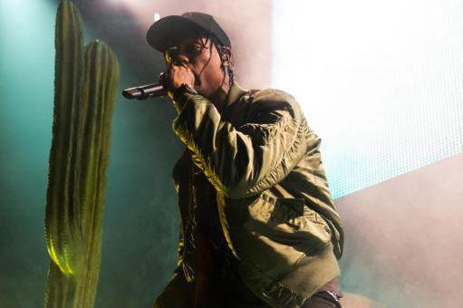 Le rappeur Travis Scott... (PhotoJohn Salangsang, Archives Associated Press)