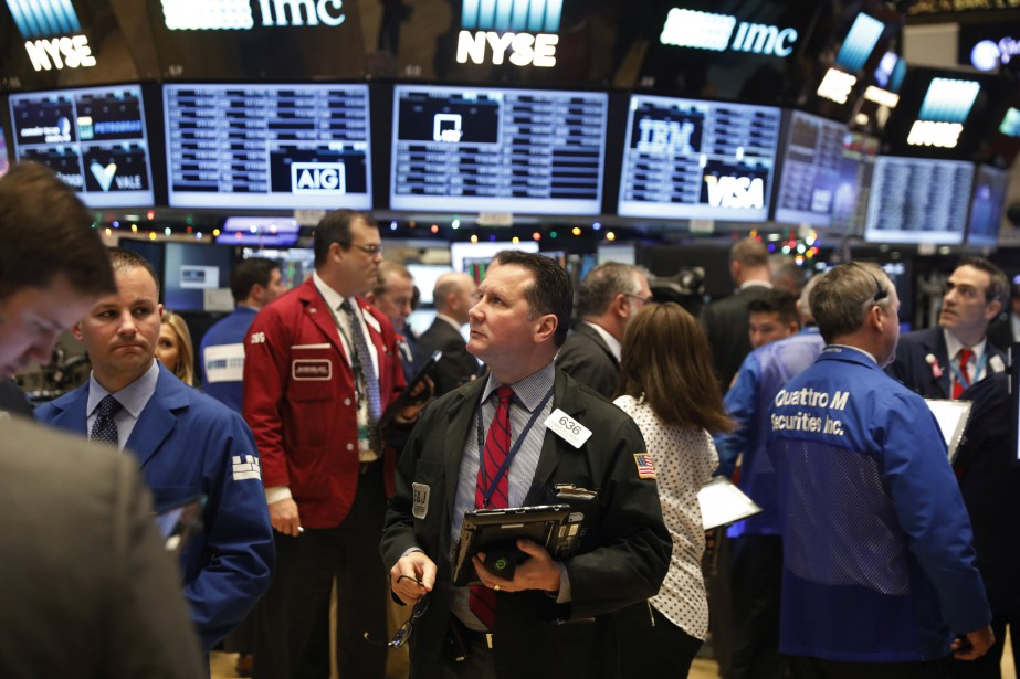 Wall Street a gardé sa bonne disposition du... (Photo REUTERS)