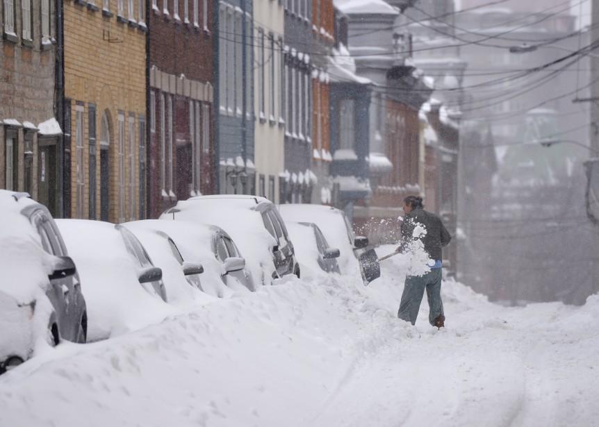 Dur réveil sur Québec dans les quartiers centraux (Le Soleil, Yan Doublet)