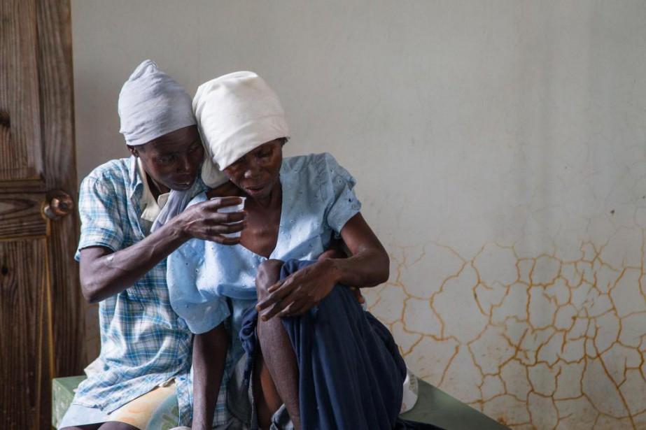 Quelque 10 000 morts, 800000malades. Le choléra fait... (Photo Martin Tremblay, La Presse)