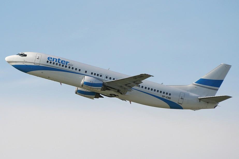 La compagnie aérienne polonaise Enter Air possède une... (photo tirée de wikipédia)