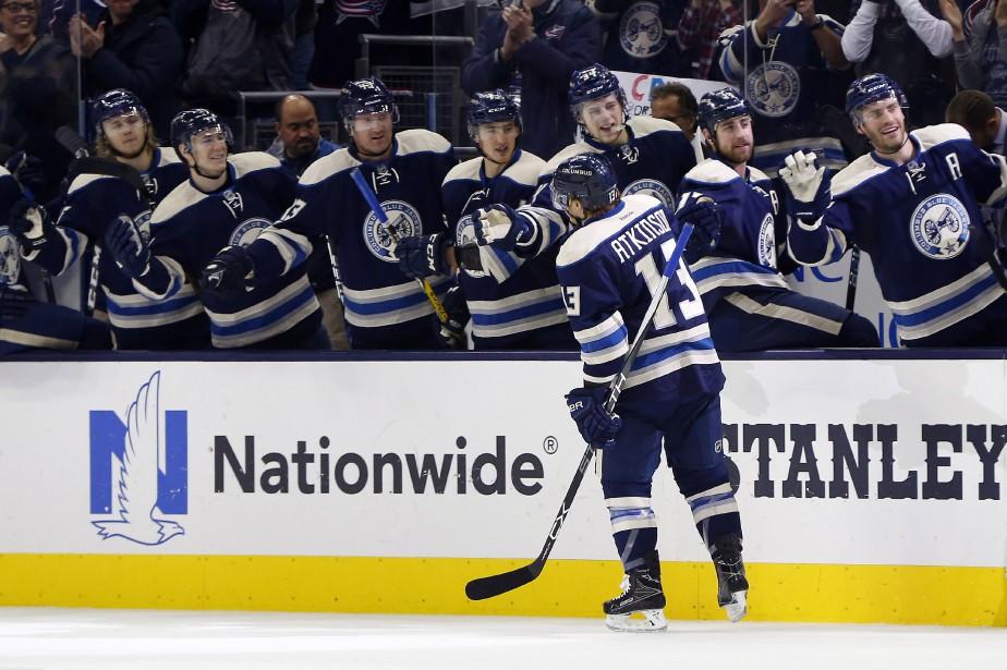 Les Blue Jackets de Columbus n'ont pas perdu... (Photo Russell LaBounty, USA Today Sports)