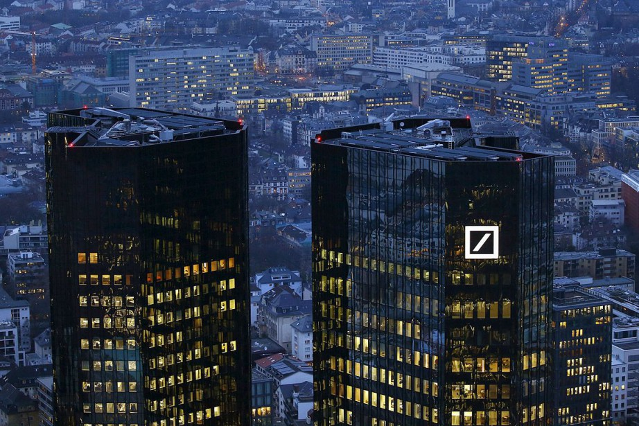 Le siège social de Deutsche Bank.... (Photo Kai Pfaffenbach, archives REUTERS)