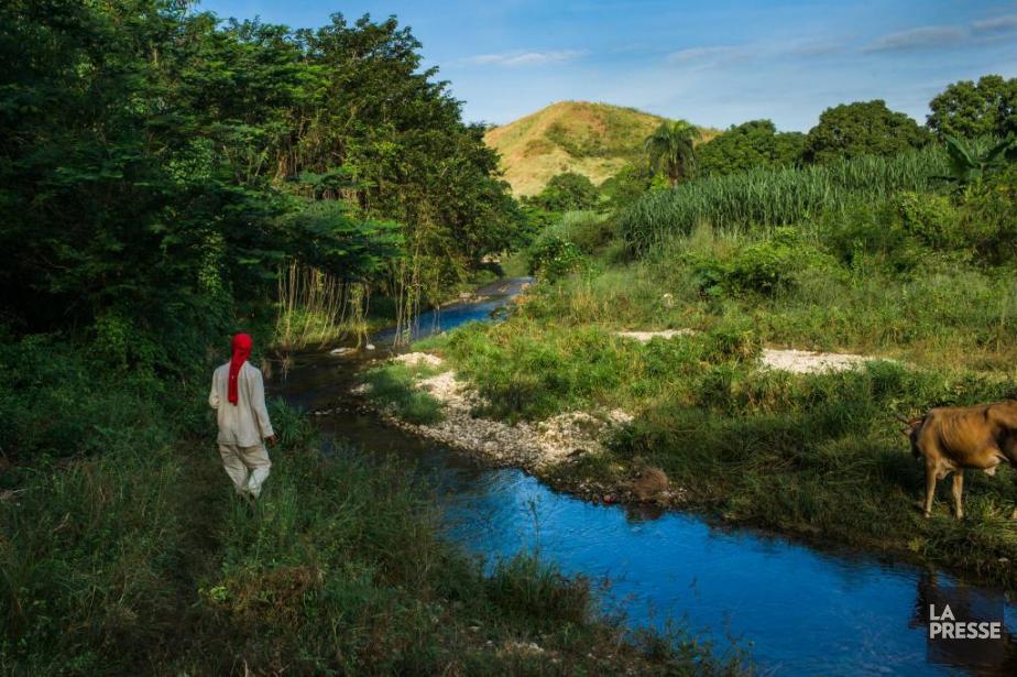 Le choléra est passé par la rivière Méyè.... (Photo Martin Tremblay, La Presse)