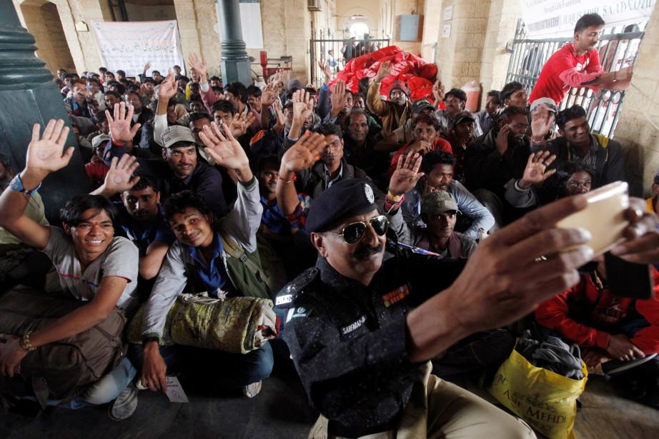 Ces 219 pêcheurs, dont certains étaient en prison... (REUTERS)