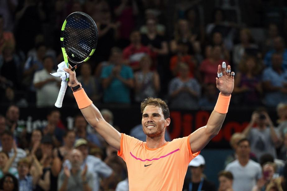 Rafael Nadal... (Photo Saeed Khan, Agence France-Presse)