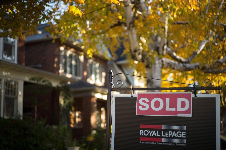 Les ventes annuelles de logements du plus... (Photo Graeme Roy, archives PC)
