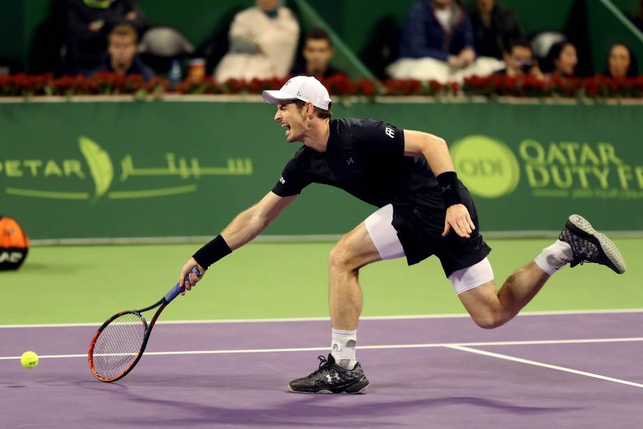 Andy Murray... (Photo Karim Jaafar, AFP)