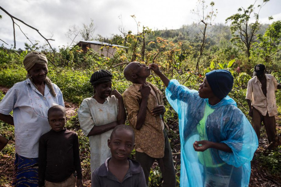 La campagne de vaccination contre le choléra, financée... (PHOTO MARTIN TREMBLAY, LA PRESSE)