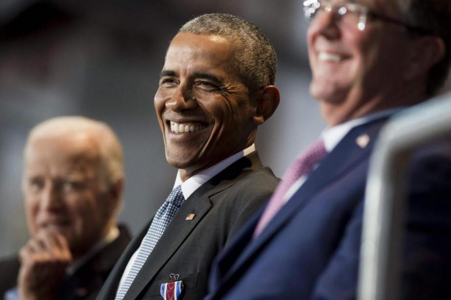 Barack Obama... (PhotoSAUL LOEB, Agence France-Presse)