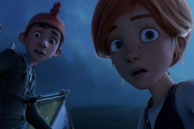 En France, le film d'animationBallerina a attiré plus... (Image fournie par Caramel Films)