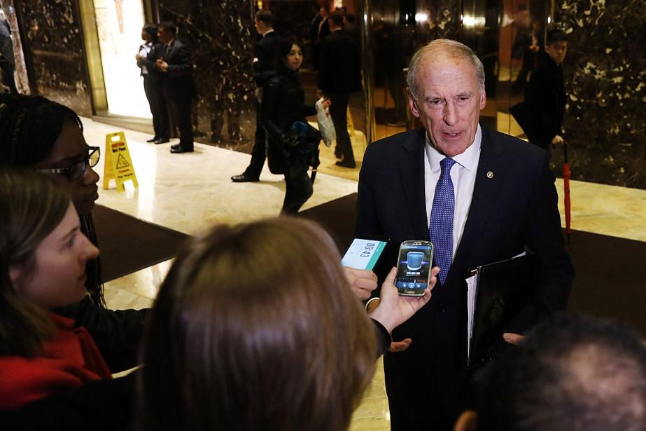 Dan Coats, sénateur républicain sortant de l'Indiana, a... (Photo Lucas Jackson, archives REUTERS)