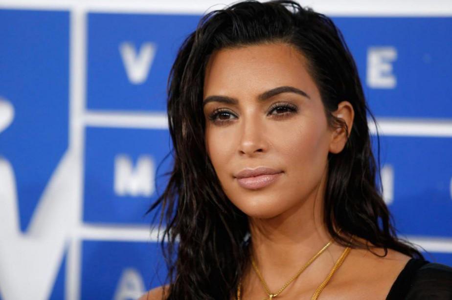 Kim Kardashianétait restée très discrète depuis l'agression.... (PhotoEduardo Munoz, Archives Reuters)