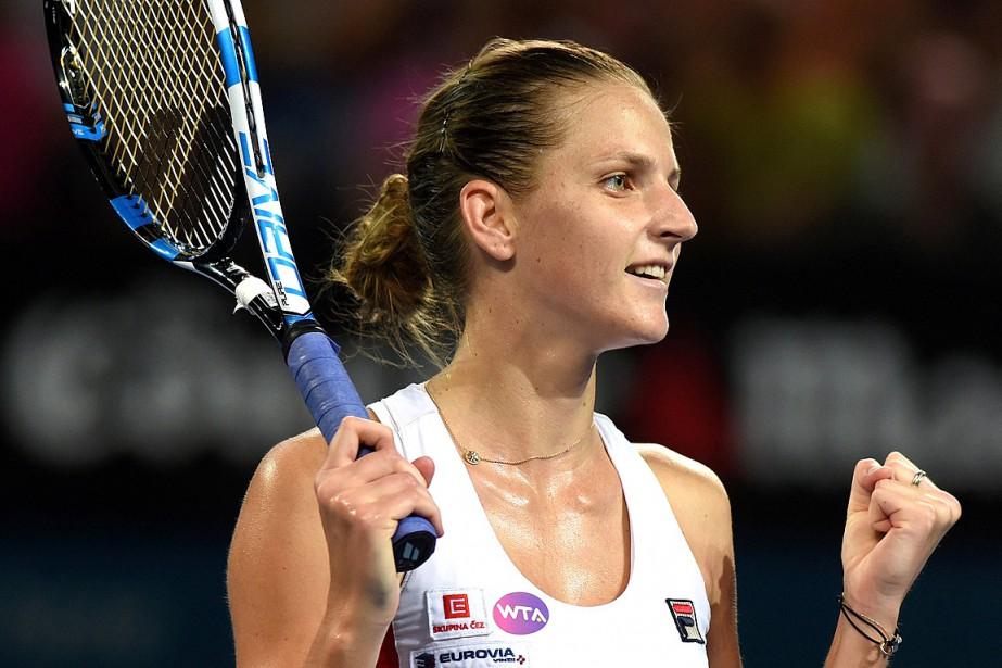 Karolina Pliskova... (Photo Steve Holland, REUTERS)