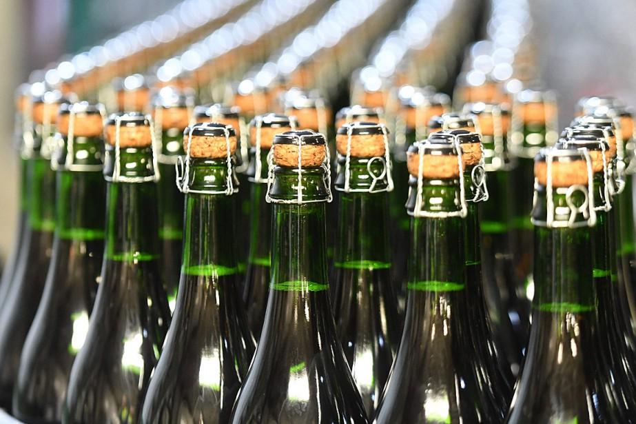 On trouve aussi du cidre/vodka et citron vert... (PHOTO JEAN-FRANCOIS MONIER, AFP)